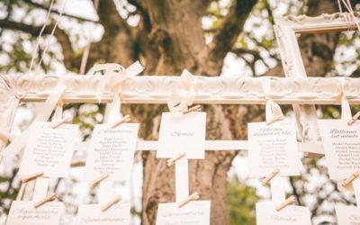Tableau de mariage fai da te: 3 idee per il tema perfetto